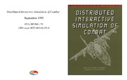 Cover for Distributed Interactive Simulation of Combat