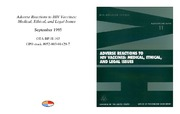 Cover for Adverse Reactions to HIV Vaccines: Medical, Ethical, and Legal Issues