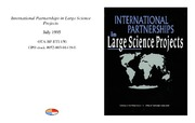 Cover for International Partnerships in Large Science Projects