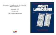 Cover for Information Technologies for the Control of Money Laundering