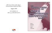 Cover for The Lower Tiers of the Space Transportation Industrial Base