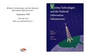 Cover for Wireless Technologies and the National Information Infrastructure