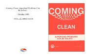Cover for Coming Clean: Superfund Problems Can Be Solved...