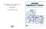 Cover for Facing America's Trash: What Next for Municipal Solid Waste?