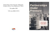 Cover for Partnerships Under Pressure: Managing Commercial Low-Level Radioactive Waste