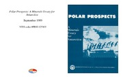 Cover for Polar Prospects: A Minerals Treaty for Antarctica