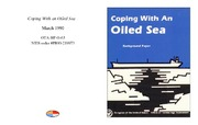Cover for Coping With an Oiled Sea