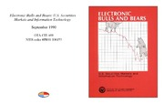 Cover for Electronic Bulls and Bears: U.S. Securities Markets and Information Technology