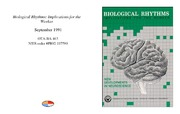 Cover for Biological Rhythms: Implications for the Worker