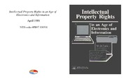 Cover for Intellectual Property Rights in an Age of Electronics and Information