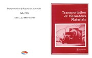 Cover for Transportation of Hazardous Materials
