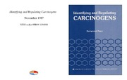 Cover for Identifying and Regulating Carcinogens
