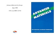 Cover for Advanced Materials by Design