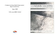 Cover for Commercializing High-Temperature Superconductivity