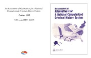 Cover for An Assessment of Alternatives for a National Computerized Criminal History System