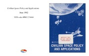 Cover for Civilian Space Policy and Applications