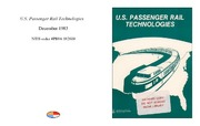 Cover for U.S. Passenger Rail Technologies