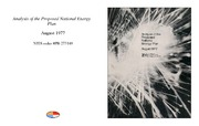 Cover for Analysis of the Proposed National Energy Plan
