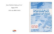 Cover for Open Shelf-Life Dating of Food