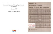 Cover for Impact of Advanced Group Rapid Transit Technology