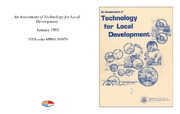 Cover for An Assessment of Technology for Local Development