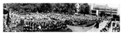 Georgetown University Law Center 1971 Commencement Panorama