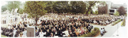 Georgetown University Law Center 1977 Commencement Panorama