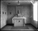 "Wernersville 1929; Chapel in First Residence ""Brosnan House"""