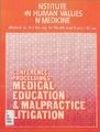 Cover for A Conference on Medical Education and Malpractice Litigation