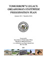 Cover for Tomorrow's Legacy: Oklahoma's Statewide Preservation Plan (January 2015 - December 2019)