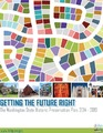 Cover for Getting the Future Right: The Washington State Historic Preservation Plan, 2014-2019