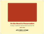 Cover for On the Road to Preservation: Wyoming's Comprehensive Statewide Historic Preservation Plan, 2007–2015