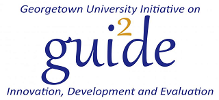 Georgetown University Initiative on Innovation, Development and Evaluation Logo
