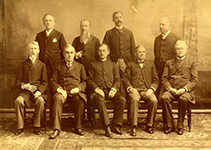 Georgetown Law faculty photo from 1893
