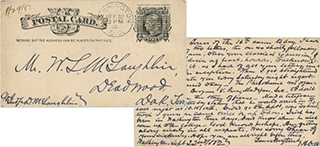 Postcard from the McLaughlin Brothers Papers